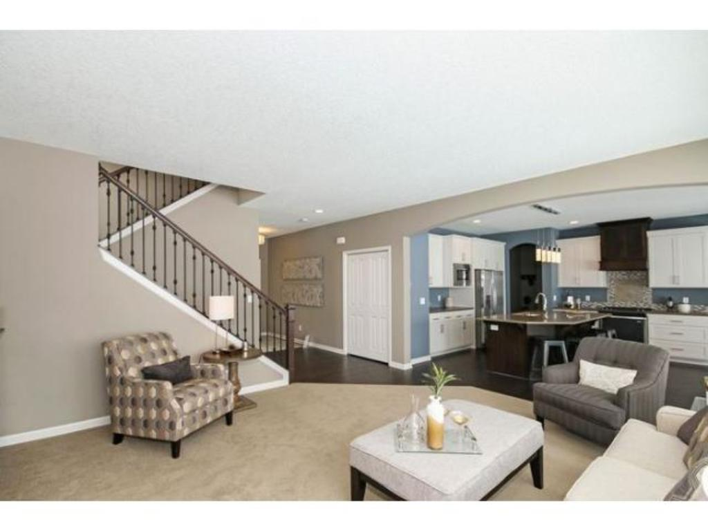 Upper level loft area.  Photo is of previous model.