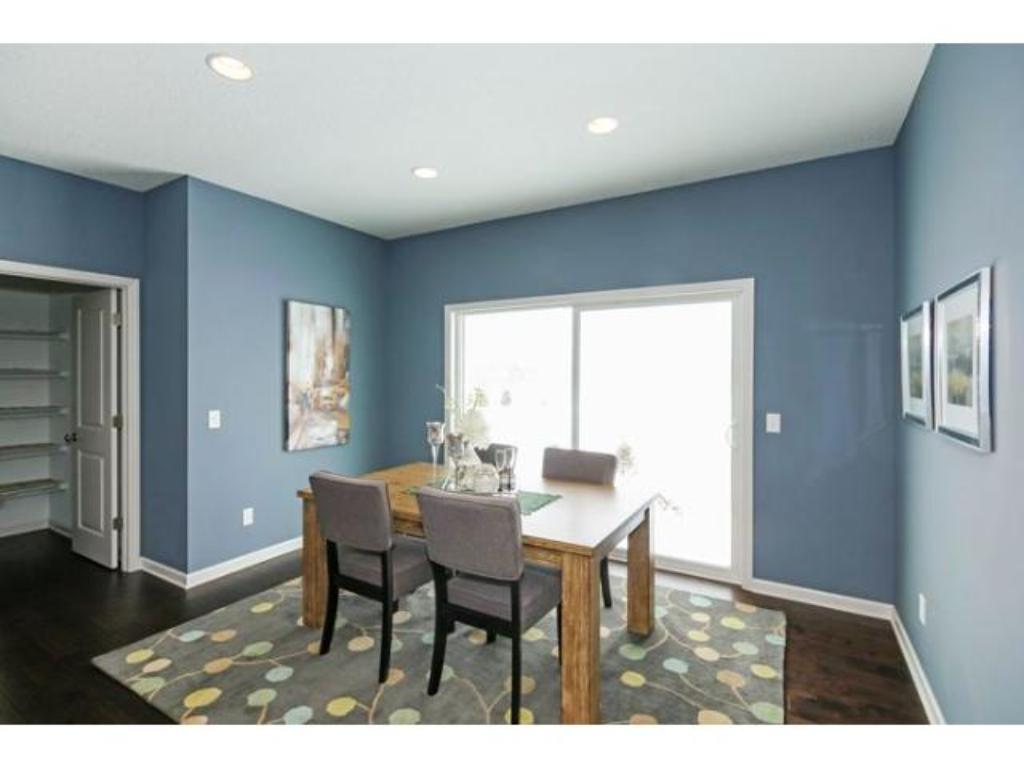 Kitchen with easy access to mudroom. Photo is of previous model.