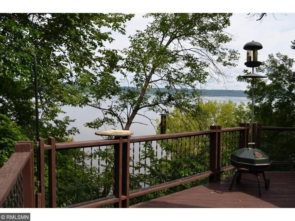 Overlooks Lake Pepin and 120 feet of private, sandy beach.
