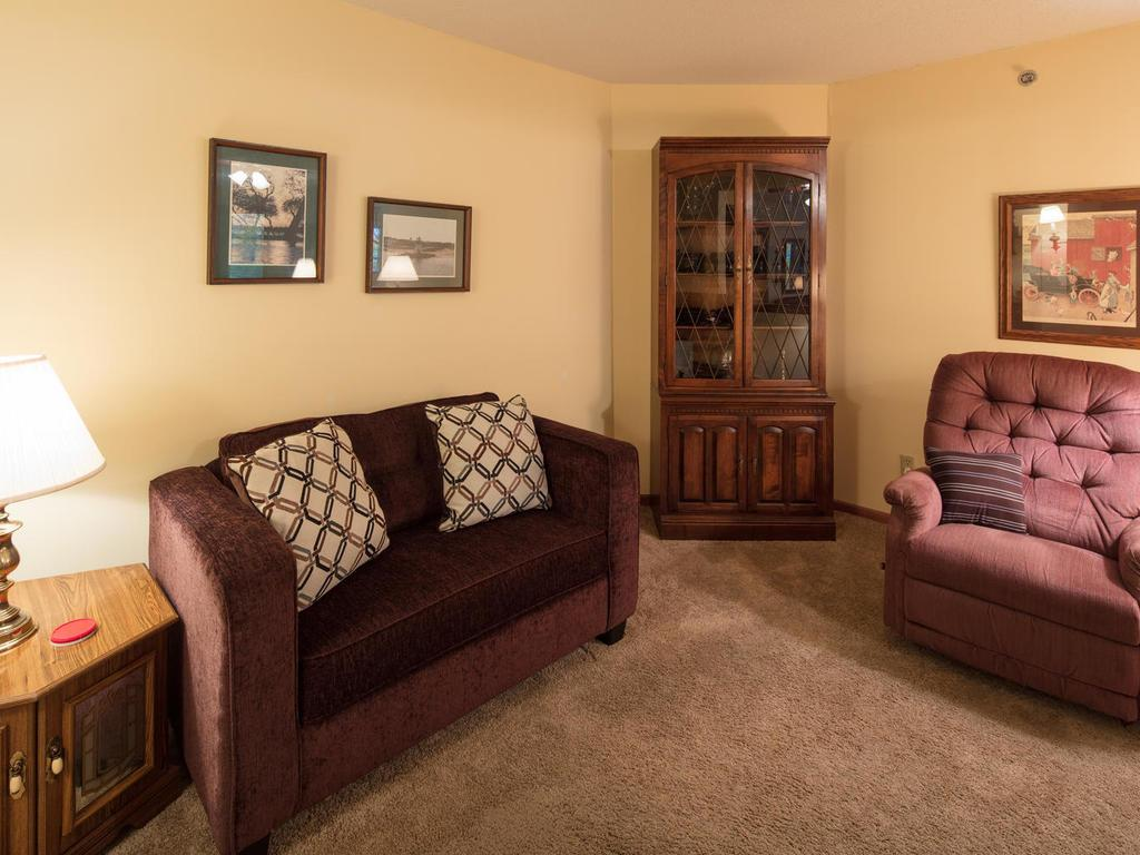 The den is a bonus and could be used as a guest room, TV room or office.