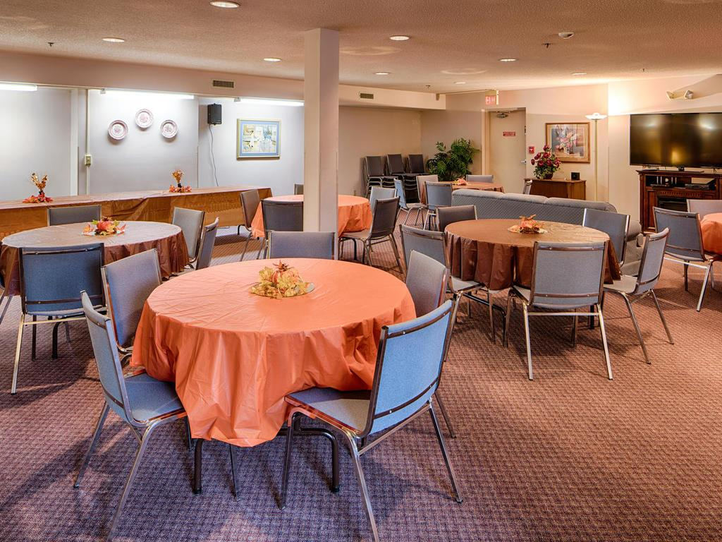 Need more space for a family gathering or party? The Community Room is perfect for that!