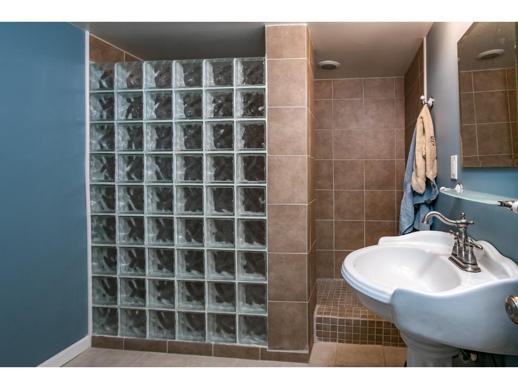 Lower level 3/4 bathroom!