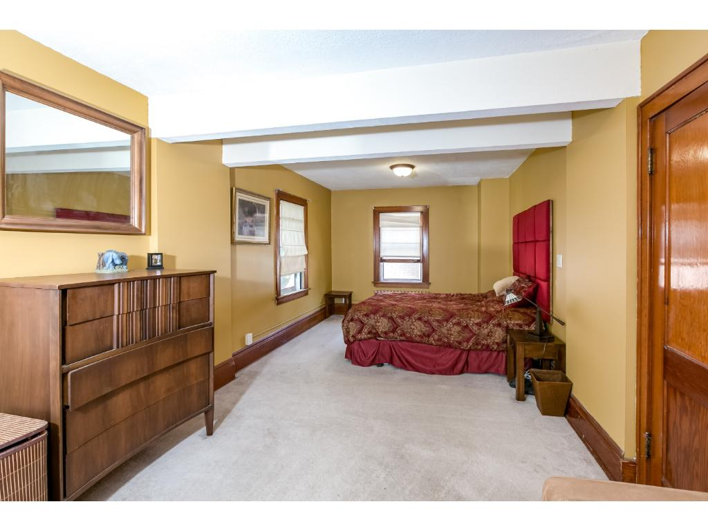 Upper level bedroom used to be two bedrooms so is incredibly generous in size!