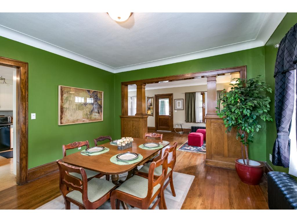 Formal dining room for holidays and entertainment.