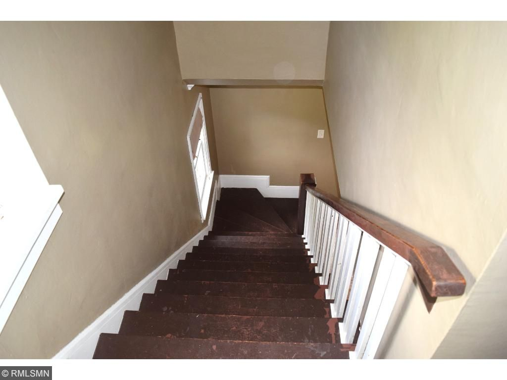 Nothing like a welcoming staircase leading upstairs.