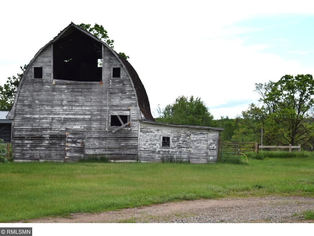 The barn needs a little work, but adds to the warm feeling, this property offers.