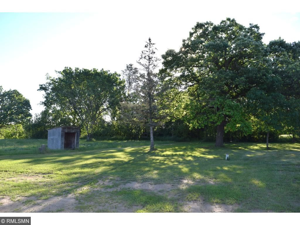 A nicely treed lot with a country setting.