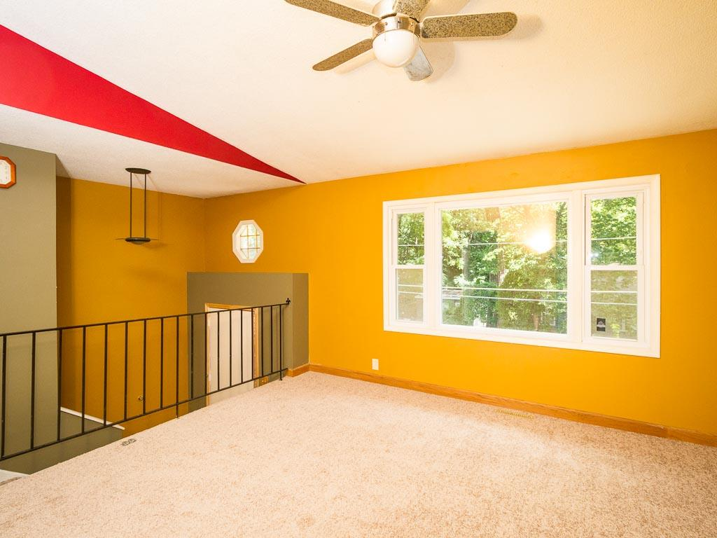 Clean and bright!  You will love the natural light that floods the living room!