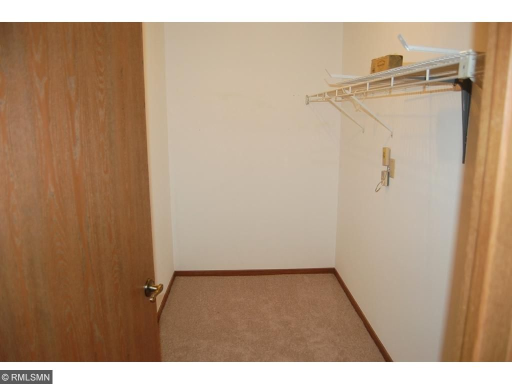 Front entry walk-in closet is 10' x 5'!
