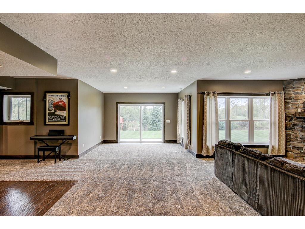 Spacious lower level walkout!