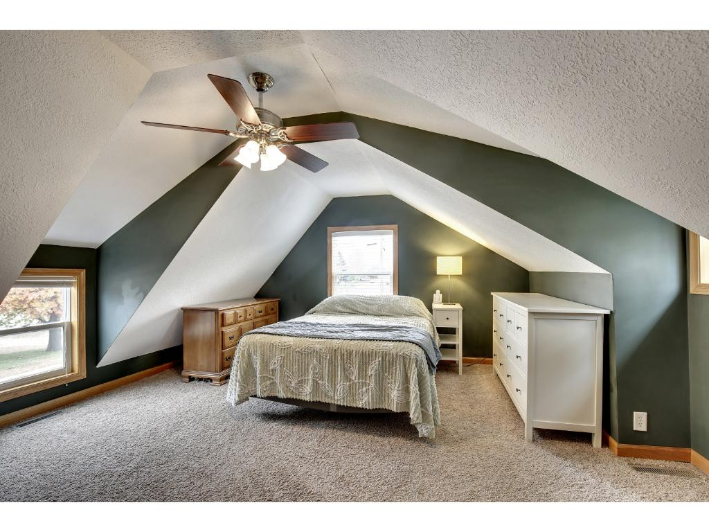 The master suite has a private bath and loft area to make a great escape when the day calls for it!