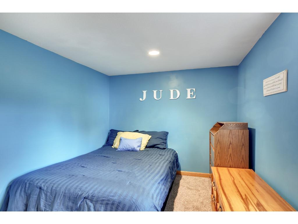 There are 2 bedrooms, with a 3rd non-conforming bedroom on the LL.