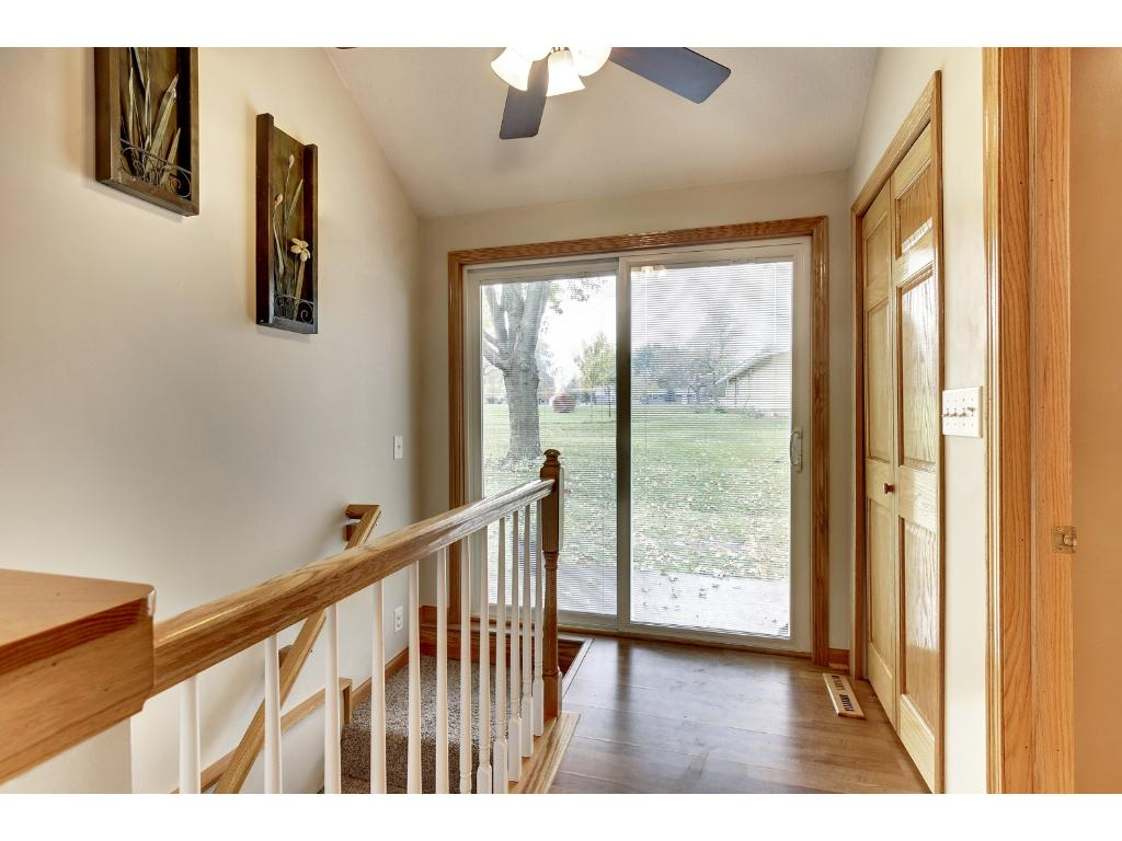 Bright, open foyer to greet your friends and family.