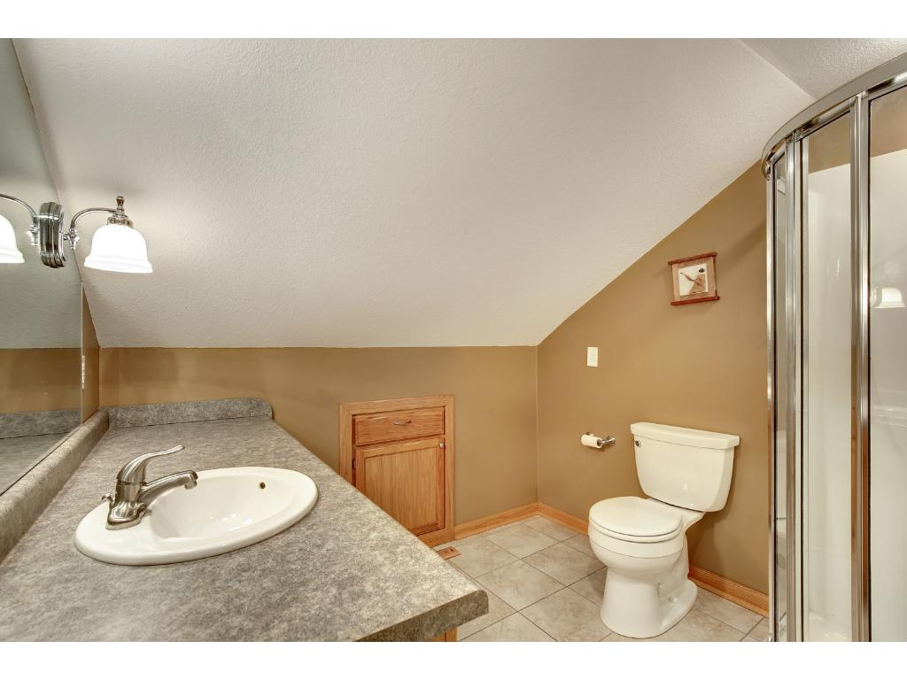 Private master has separate tub and shower, a luxury for a home of this size!