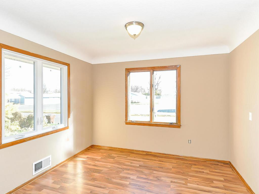 Newer floors add a special flair to the dining area. Lots of natural light here too!