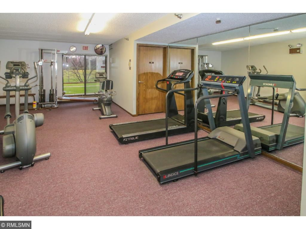 Exercise Room (Association is updating Treadmill to a high tech Treadmill).