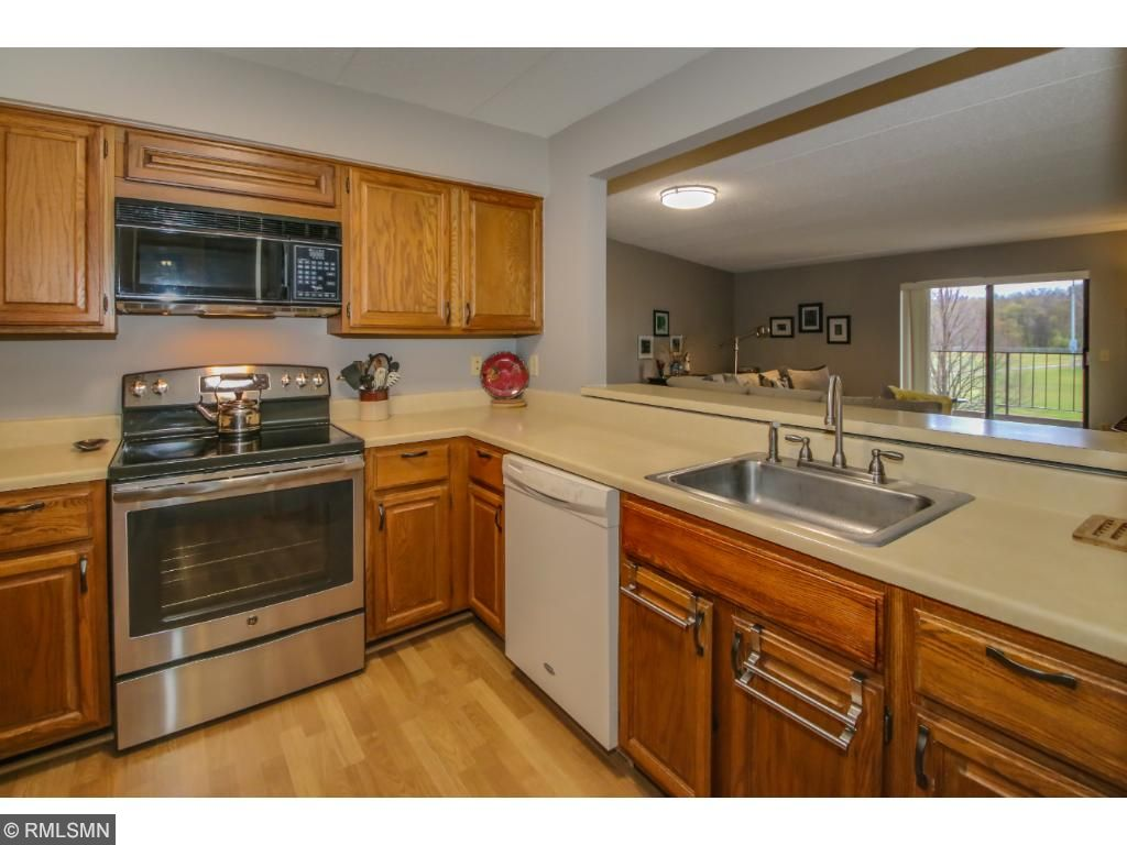 New Stainless Steel stove and refrigerator.  Updated LED lighting in Kitchen.