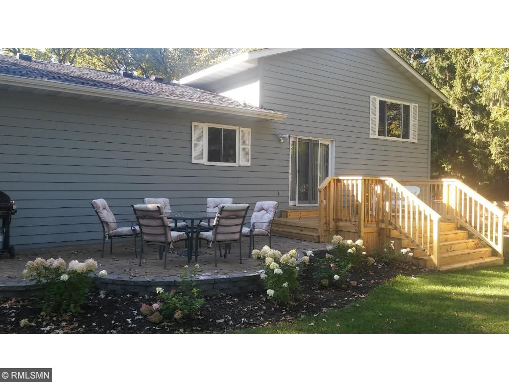 Rear of home, Deck, Patio, Great back yard