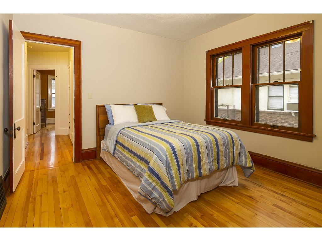 1 of 2 main floor bedrooms.
