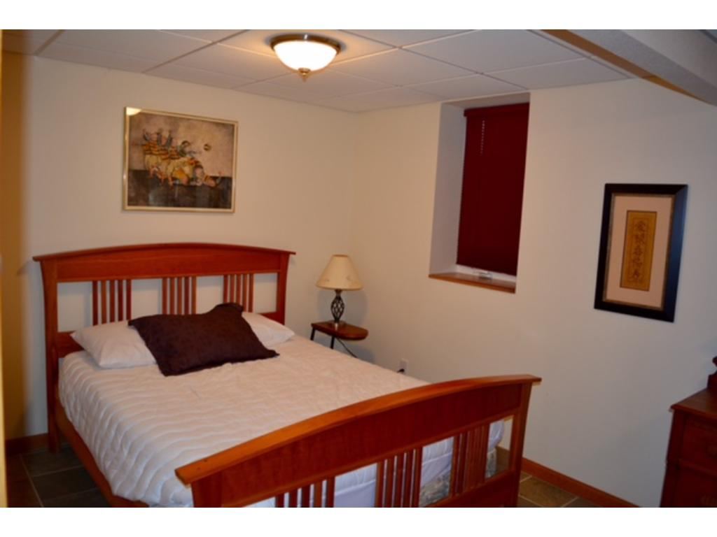 Lower level LARGE bedroom, furniture included