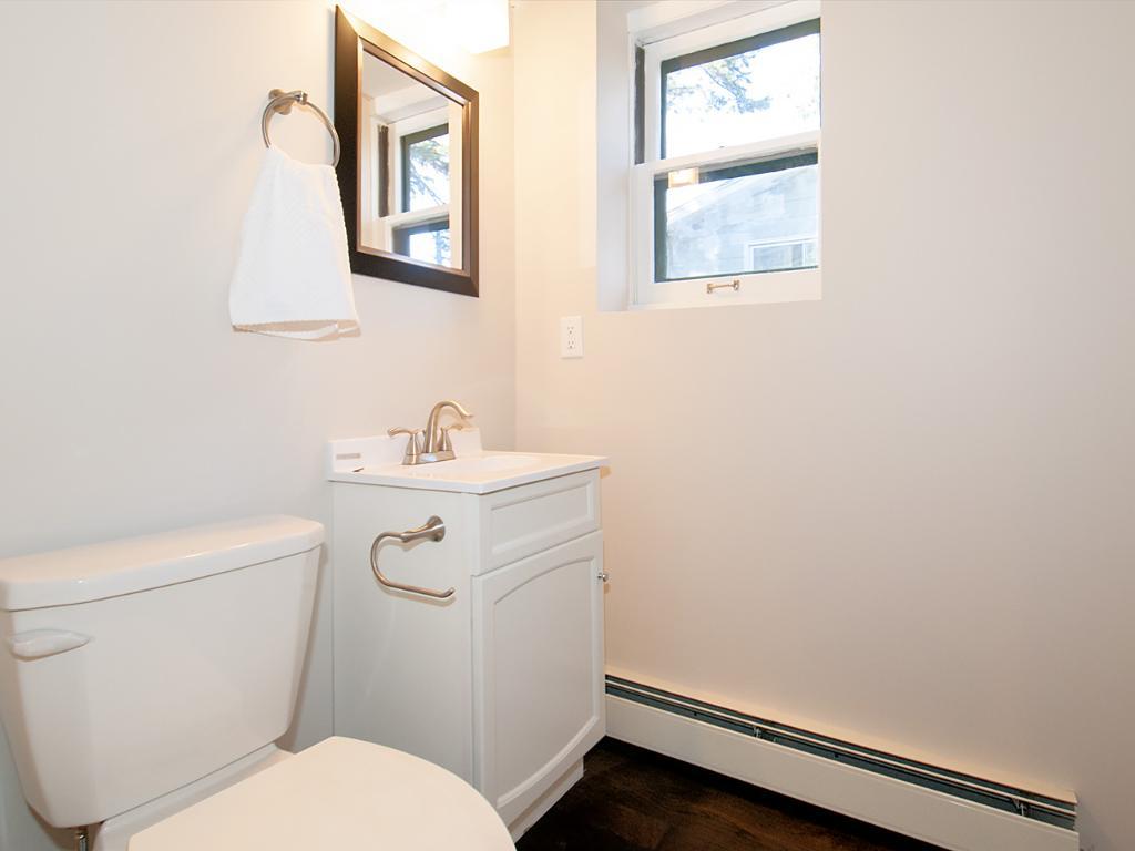Basement half bathroom just added.