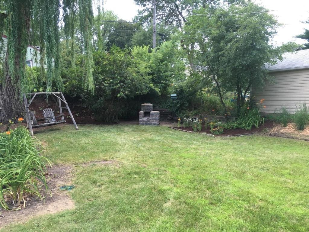Spacious private backyard!