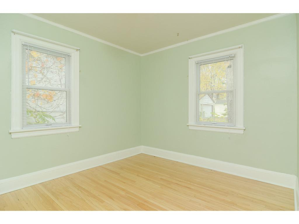 Bedroom, windows are newer.