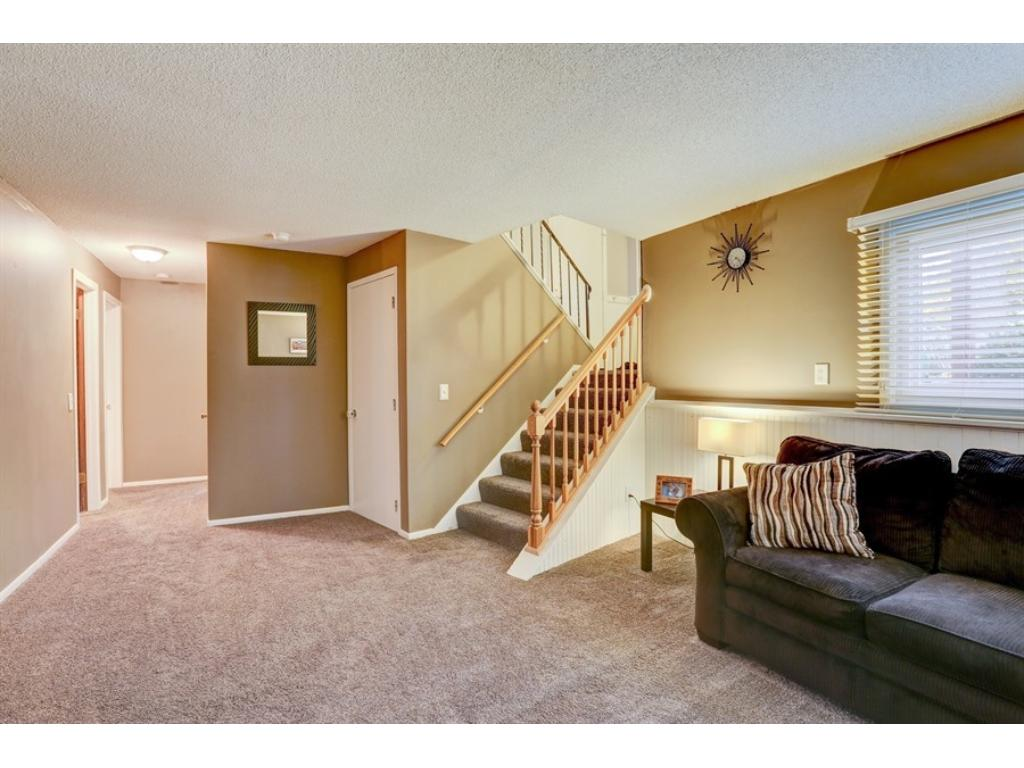 The walk-out LL features 2 year old carpet, lots of space, 2 more bedrooms and a 3/4 bath!