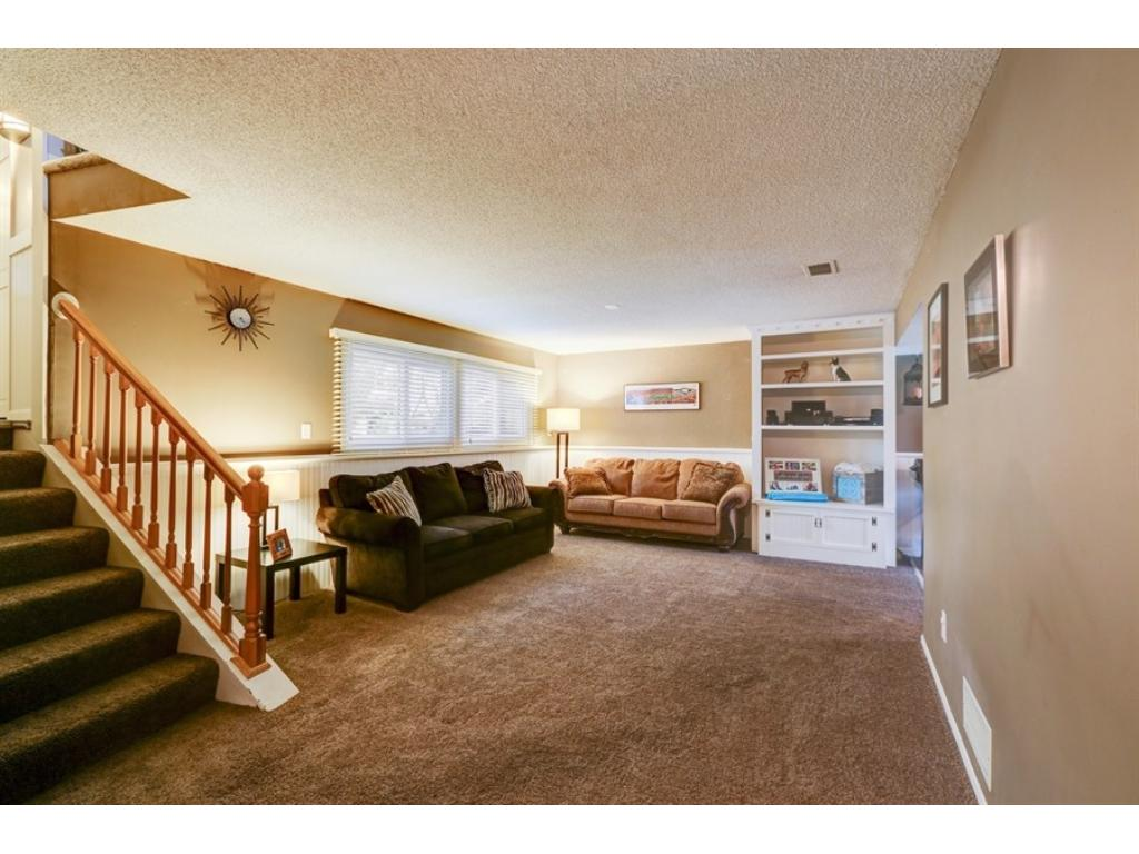 A huge family room --- enough room for any movie night or super bowl party!