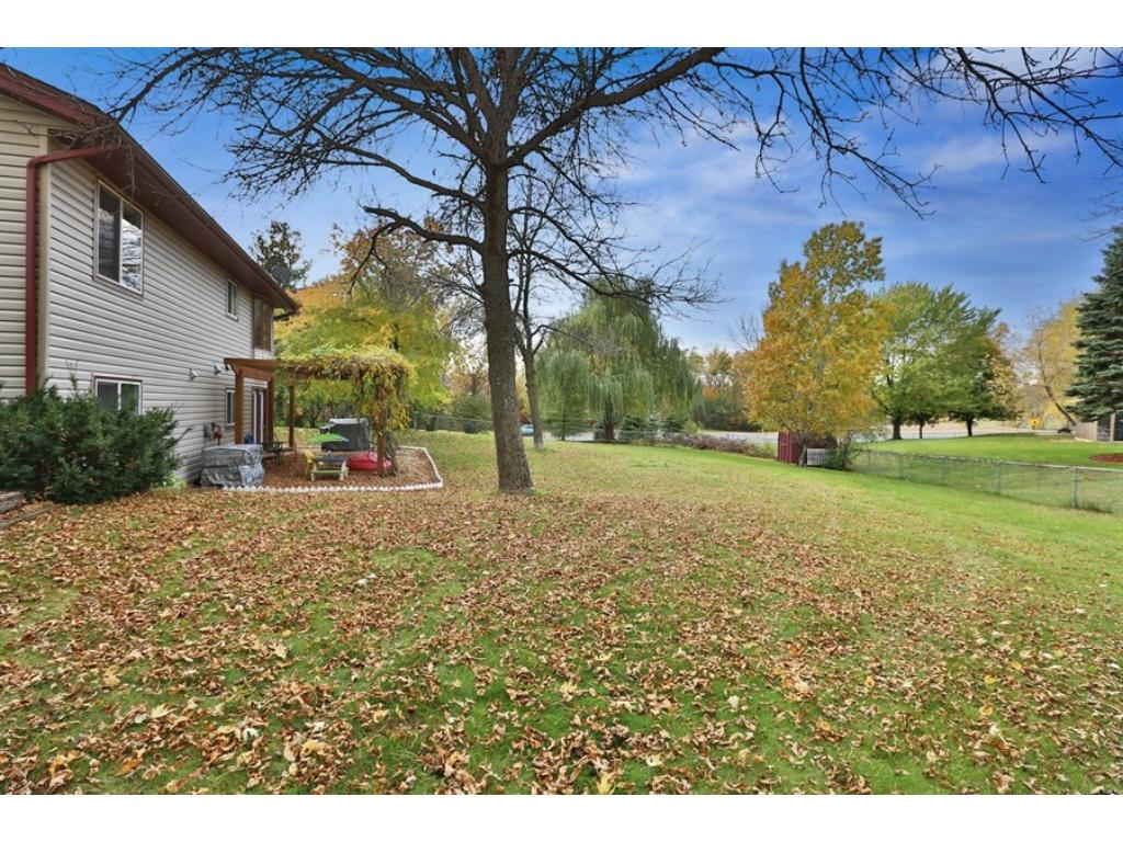 There just aren't many back yards this big in this price range in this area! It's fully fenced too!