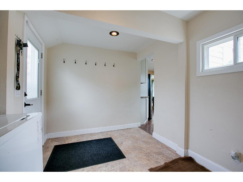 Mud room offers great space & organization to come & go.