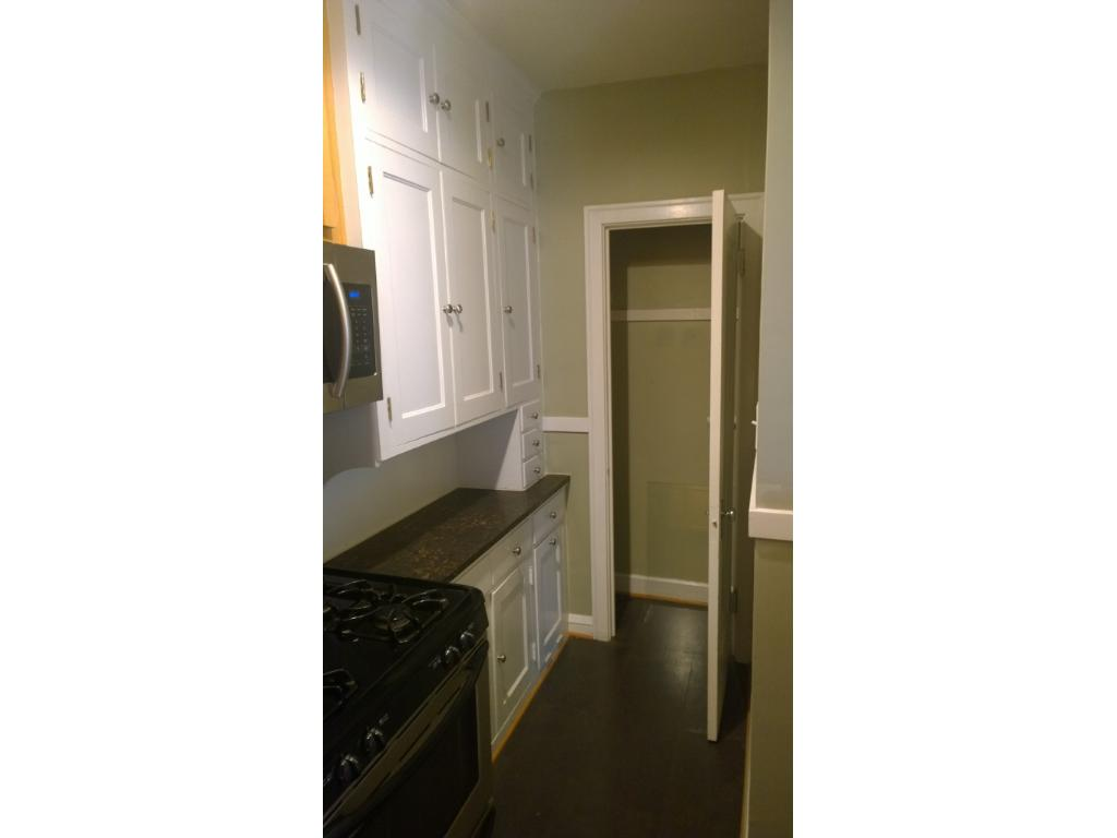 Looking into Kitchen Pantry