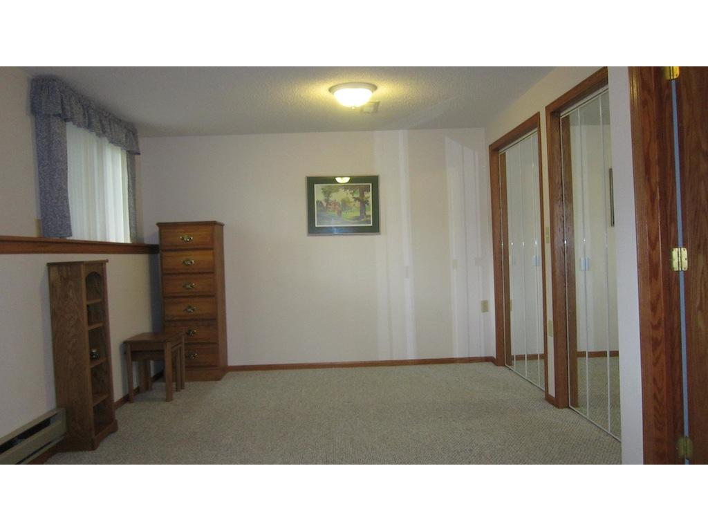 One end of the fourth bedroom -- lots of closet space.
