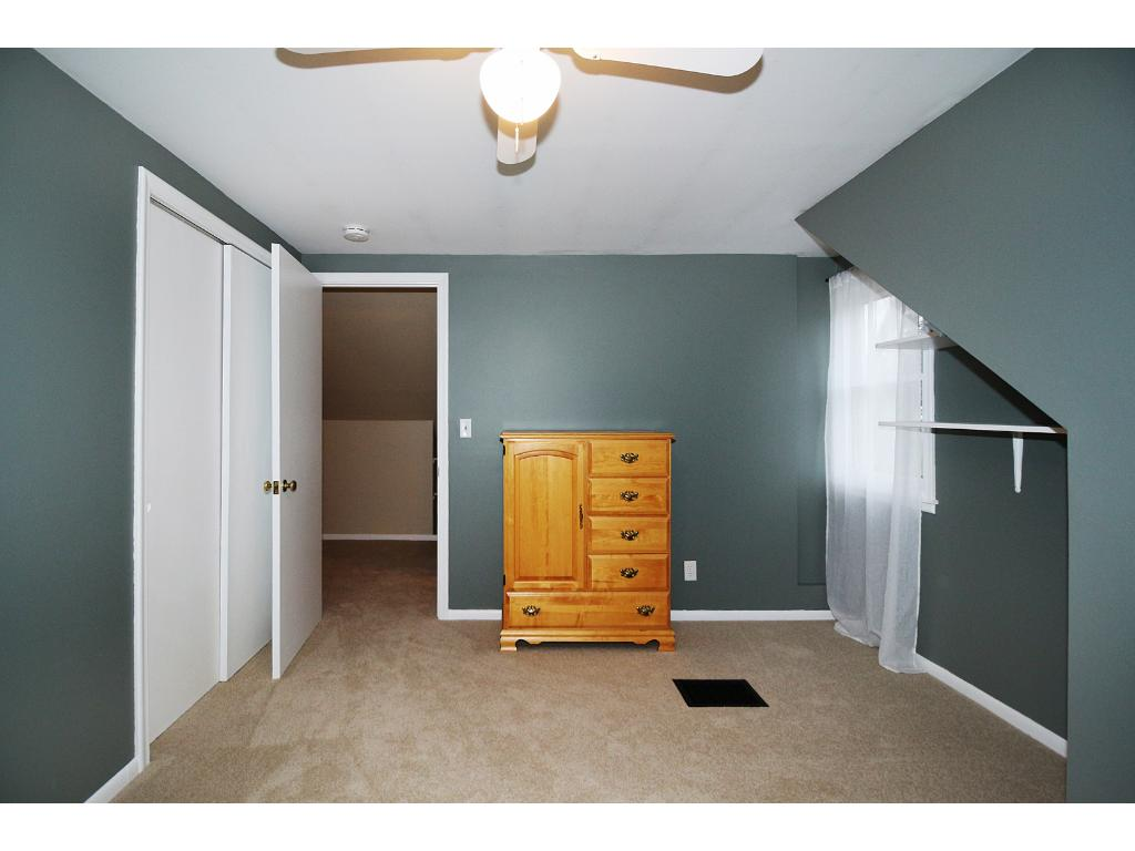 One of the two upper level bedrooms!