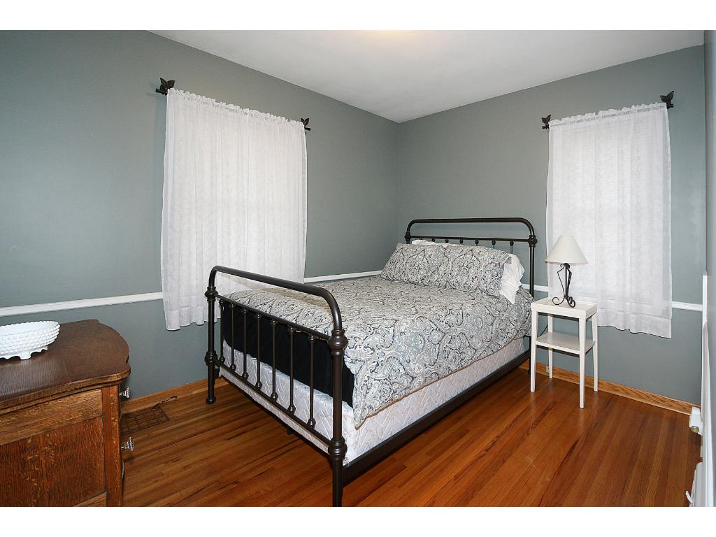 Main floor bedroom.  One of three bedrooms this home has to offer!