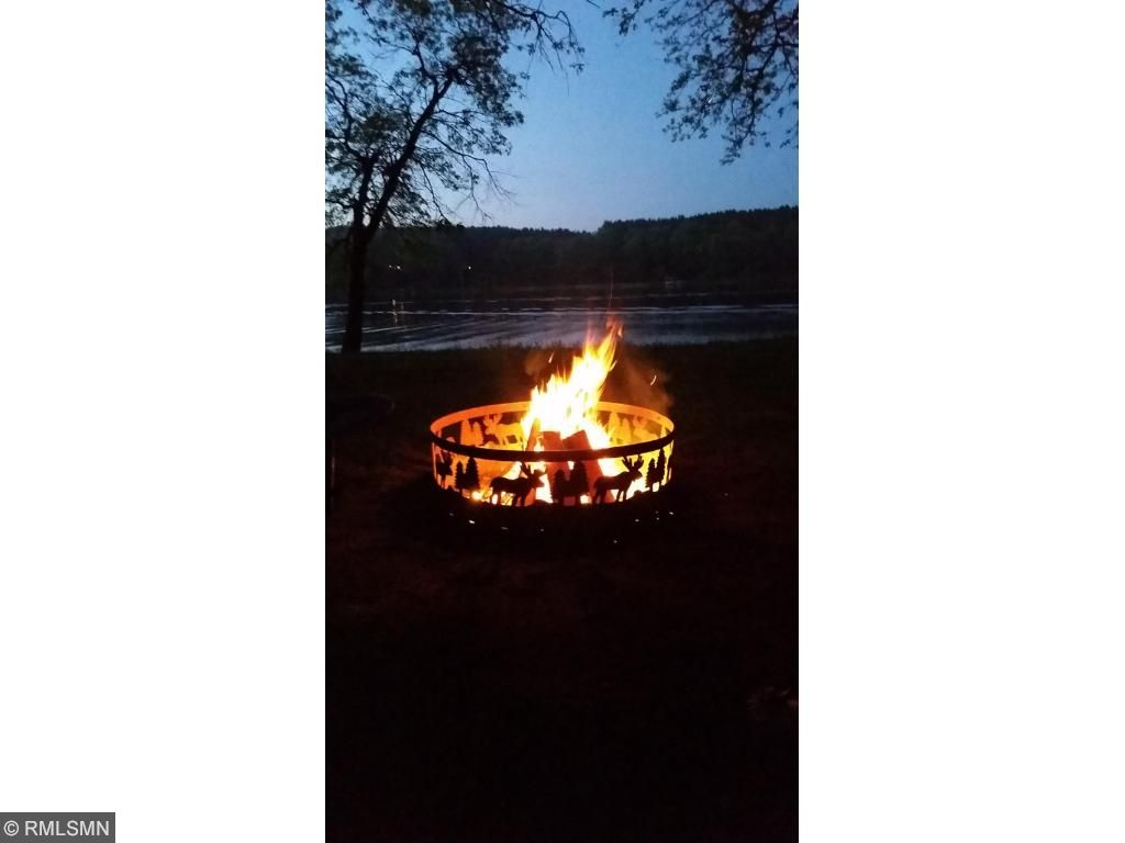 Nothing better then a bon fire at the lake.