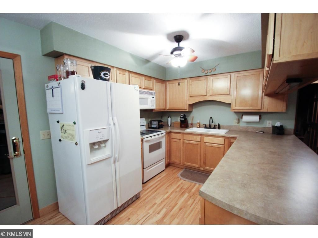 Kitchen is just the right size