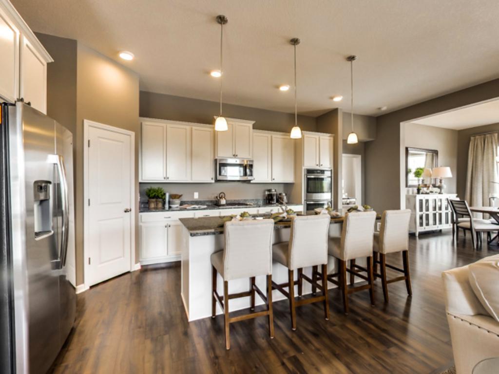 enjoy this amazing kitchen with 42 u0027 cabinets 10 foot center island and so much 3505 kachina avenue ne saint michael mn 55376   mls  4893350      rh   edinarealty com