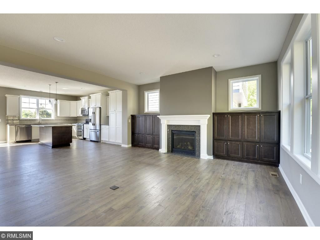 Beautiful open floor plan, cozy fireplace, and built-ins! Visit on-site to tour the model. Pleasant Ridge. Summit Hill., St. Paul.