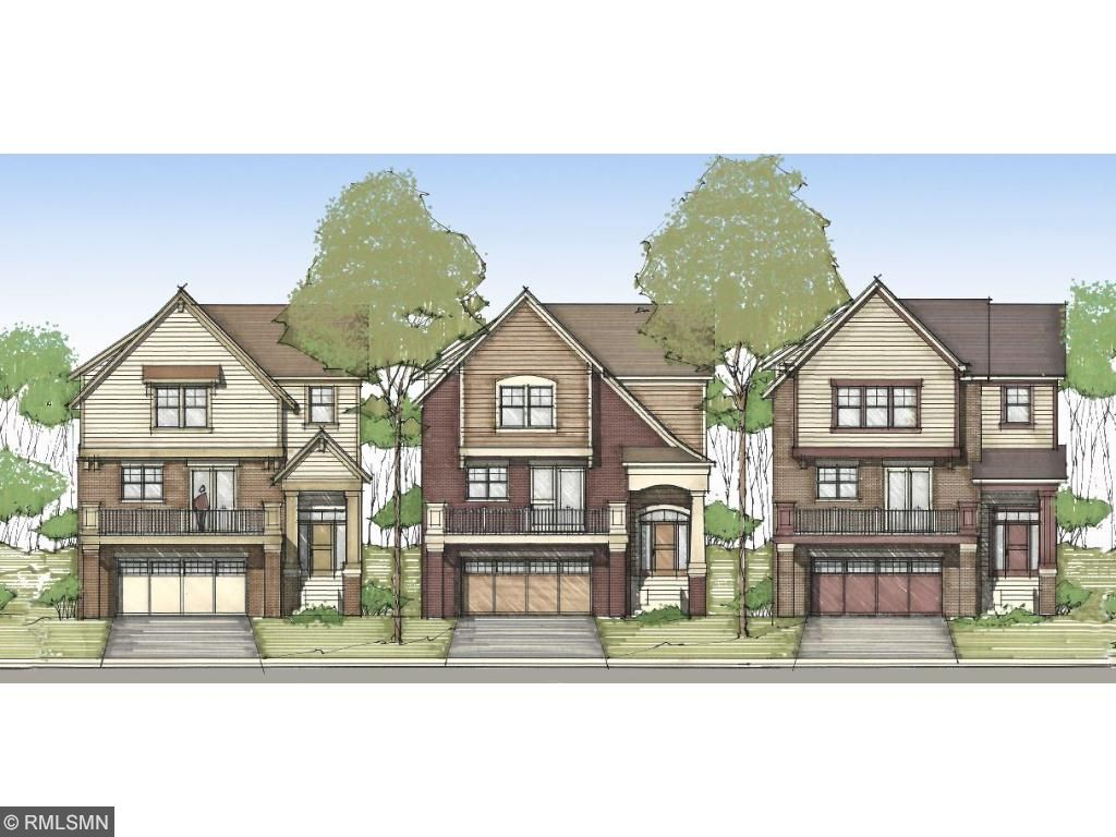 Lots 4, 5 & 6. Neighborhood streetscape rendering. Take pride in knowing your home is one-of-a-kind. Pleasant Ridge. Ramsey Hill, St. Paul. Pleasant Ridge. Ramsey Hill, St. Paul.