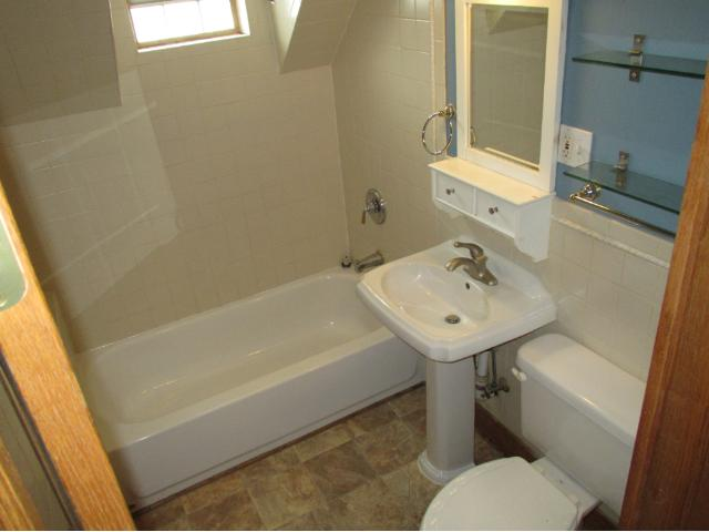 Updated Full Bath upstairs.