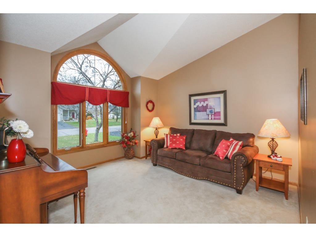 Whether you want to cozy up at home or have large gatherings, this home can accommodate it all.