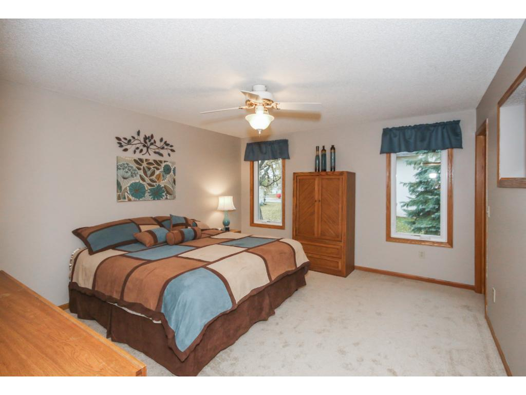 Plenty of space for all your bedroom furniture plus a little extra. BONUS: Main floor owner's bedroom!