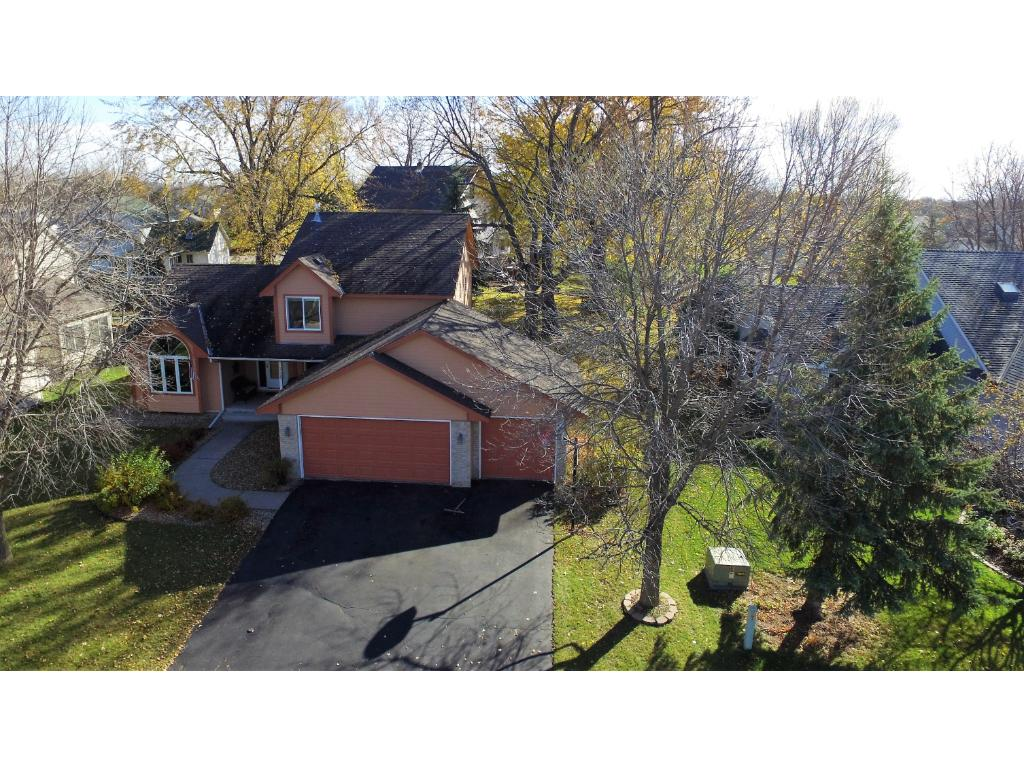 This bird's eye view gives you a great feel for the house and yard that you will call home.