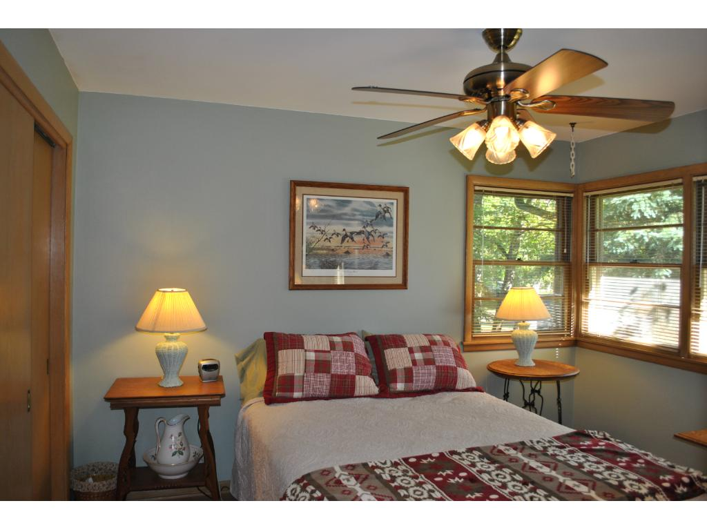 Second bedroom has beautiful natural light and a generous closet.