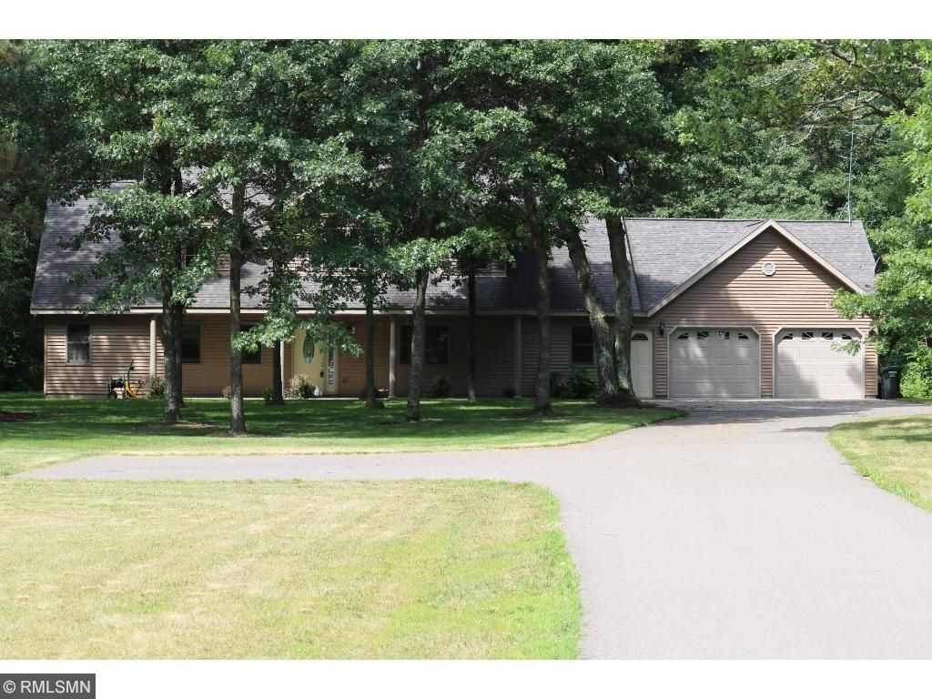 Beautiful 7 acres with a paved driveway and lots of privacy.