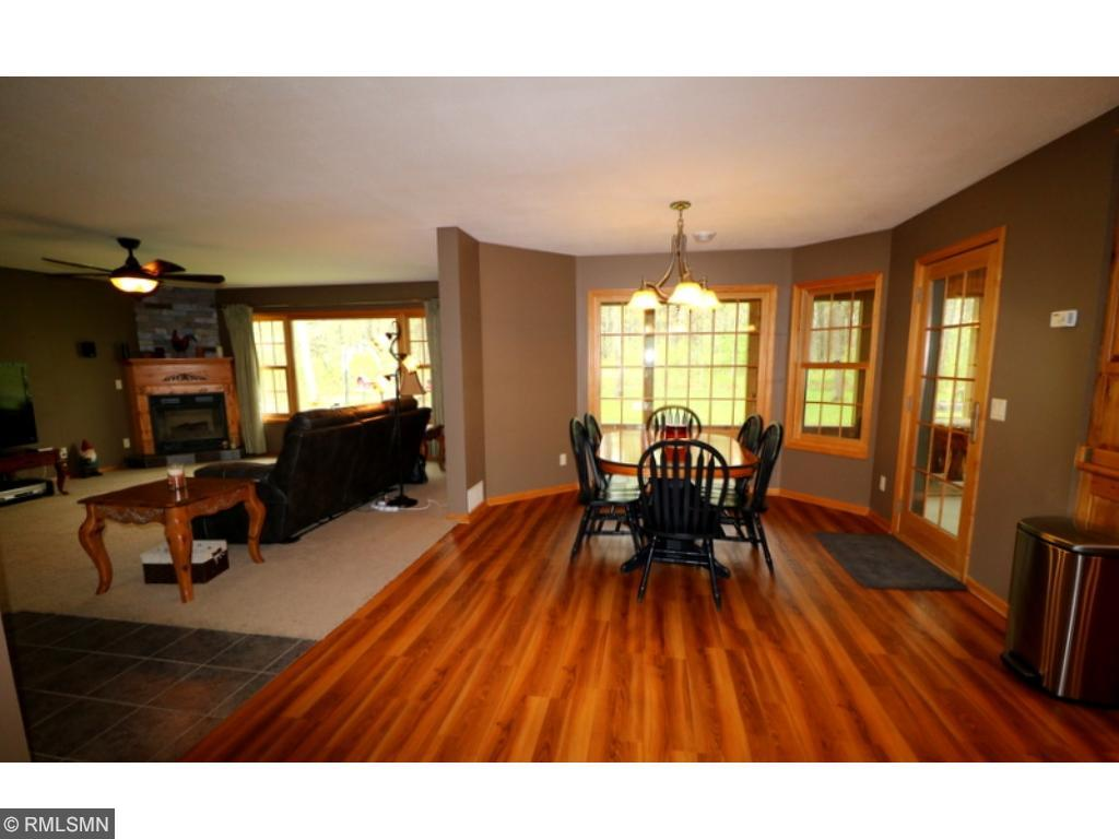 Large three season porch off of the dining area as well as the master bedroom