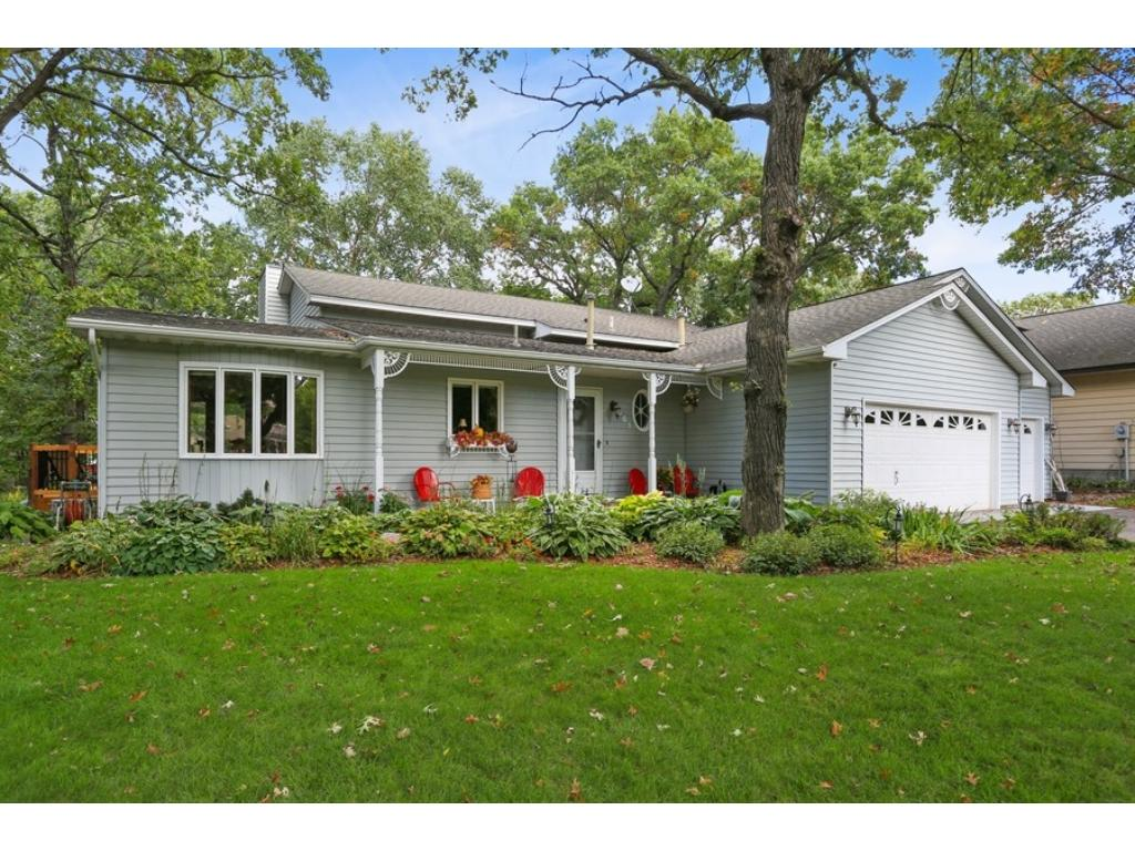 Beautifully maintained home with professional landscaping.