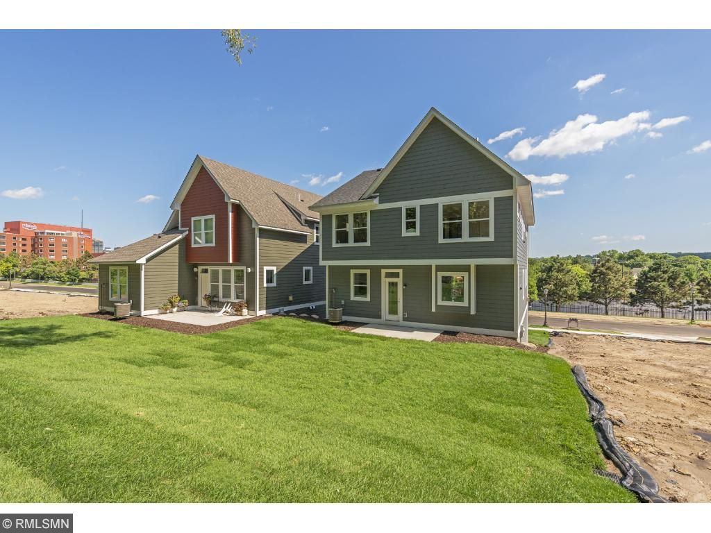 Main level features kitchen, dining room and beautiful deck. Pleasant Ridge. Ramsey Hill, Saint Paul.
