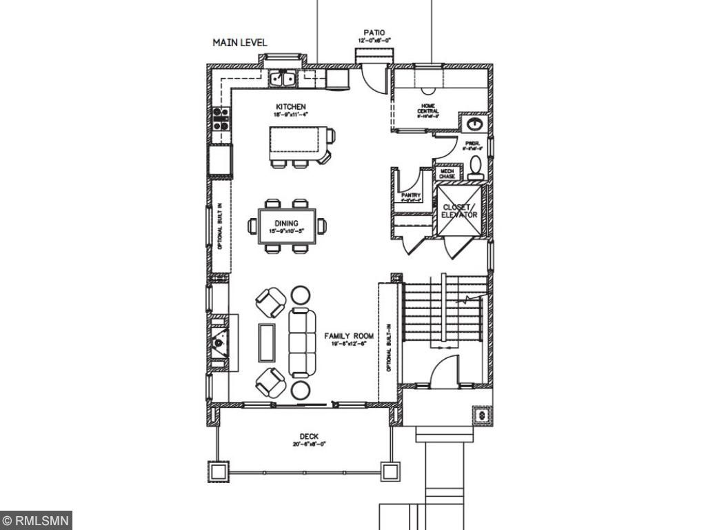 The lower level features your 3 car garage, utilities room and entryway. Pleasant Ridge. Ramsey Hill, Saint Paul.